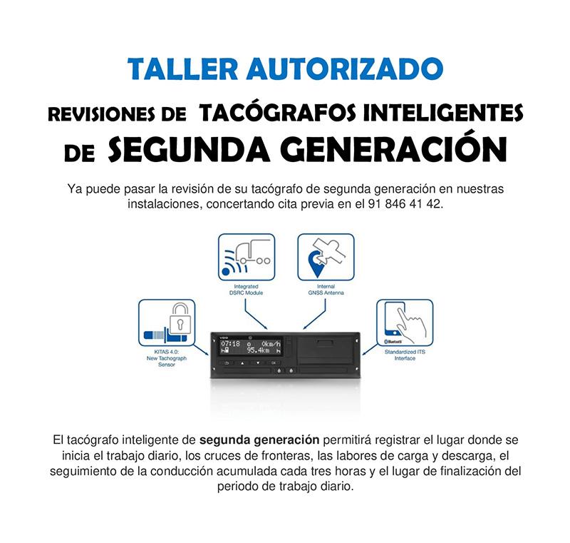 SERVICIO REVISIÓN TACÓGRAFOS SEGUNDA GENERACION