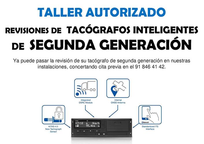 revision de tacografos inteligentes de segunda generacion